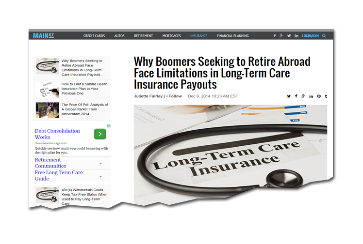 Long Term Care Payout