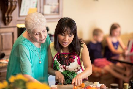 english speaking in home caregivers chicago north shore